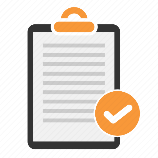 checklist, document, file, page, paper, sheet, text icon