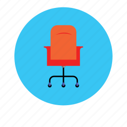 armchair, chair, furniture, office, table icon