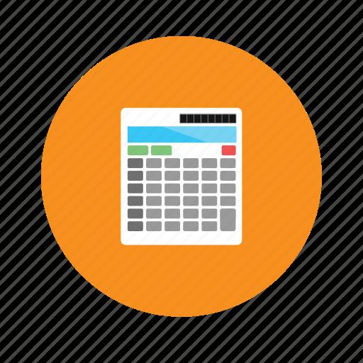 calculator, education icon