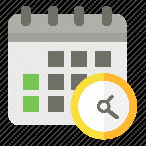 Calendar, deadline, management, time icon - Download on Iconfinder