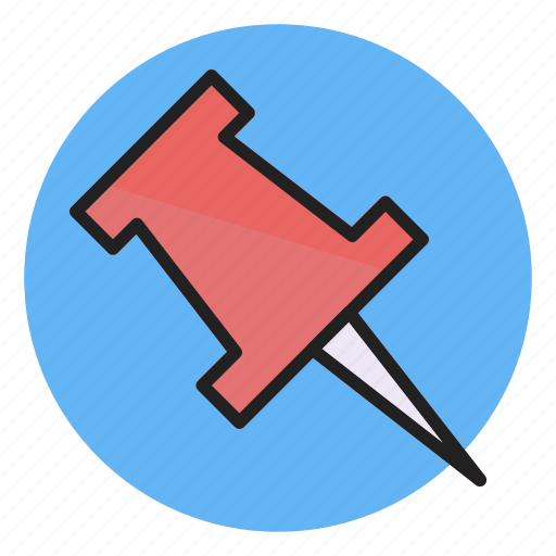 Pin, marker, point, pointer icon - Download on Iconfinder