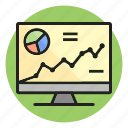 analysis, chart, graph, statistics icon