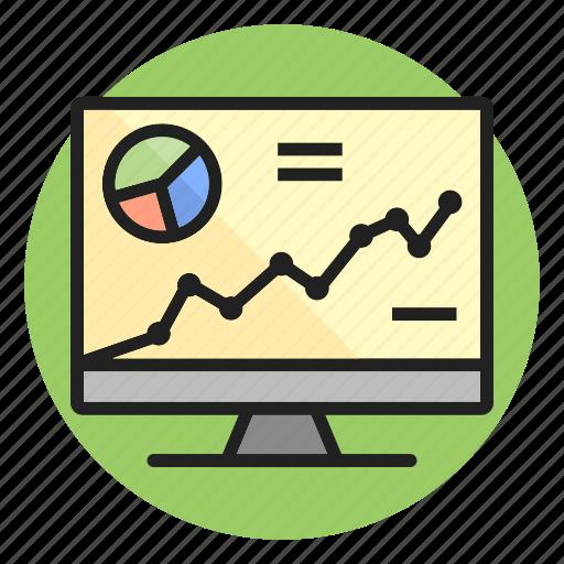 analysis, chart, graph, growth, progress, statistics icon