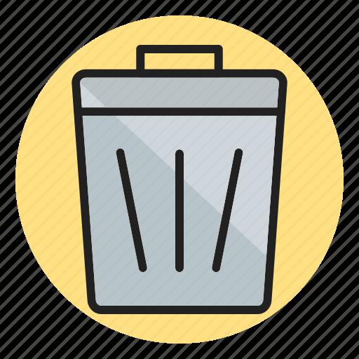 bin, delete, dustbin, garbage, recycle bin, remove, trash icon