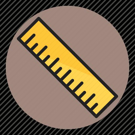 geometry, measure, measurement, ruler, scale icon