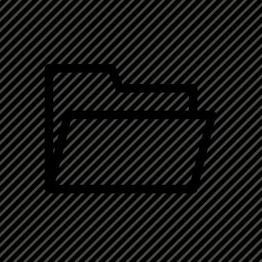 file, folder, office, outline, storage icon
