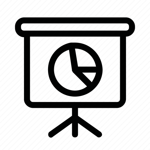 board, chart, diagram, training icon