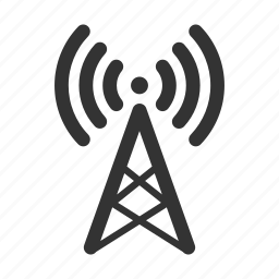 antenna, connection, marketing, network, singal, tower, wireless icon