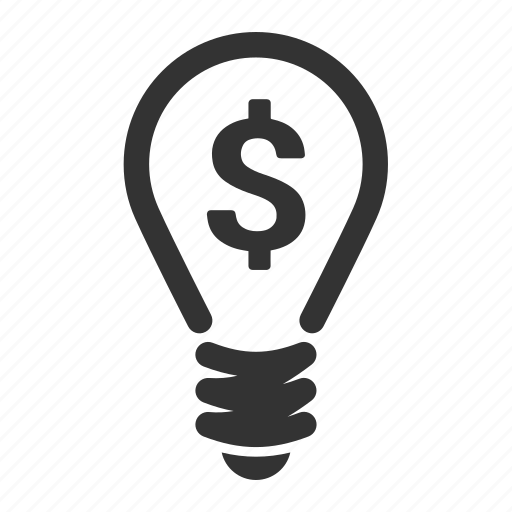 efficiency, idea, money, power, productivity icon