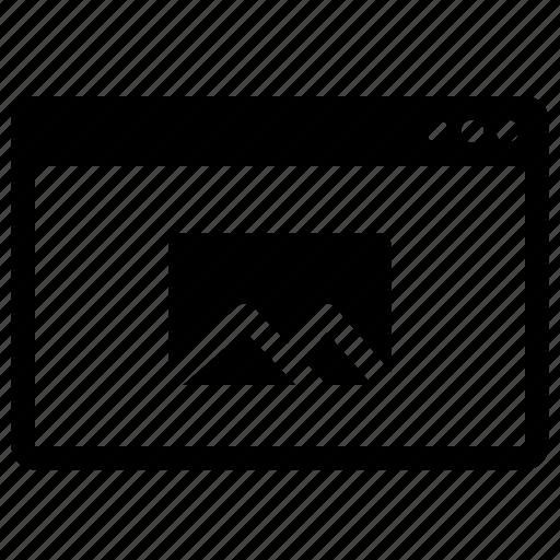 desktop, image, monitor, multimedia, notebook icon