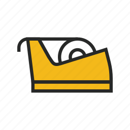 roll, sticky, tape icon