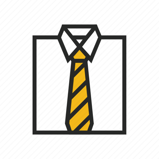 clothes, office, worker icon