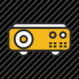 digital, presentation, projector icon