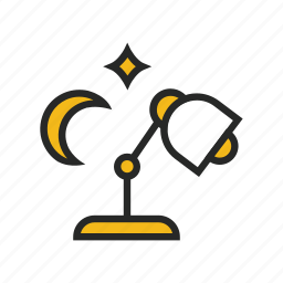 harworker, night, overtime icon