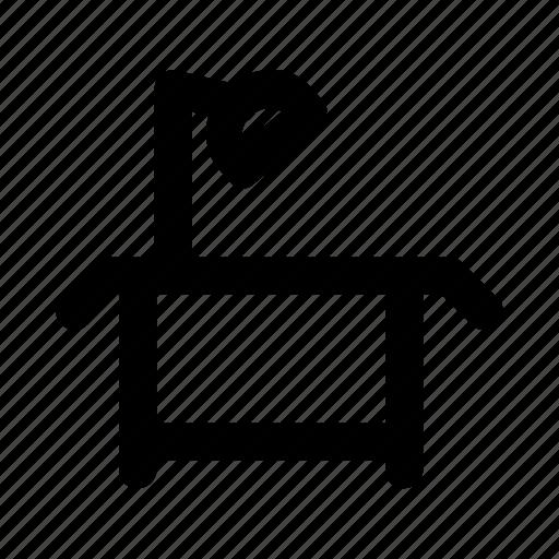 bulb, desk, lamp, light, table icon