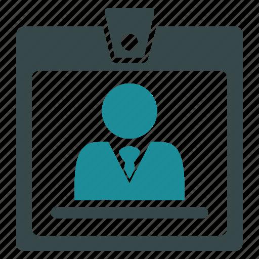 access, badge, card, person, photo, profile, user icon