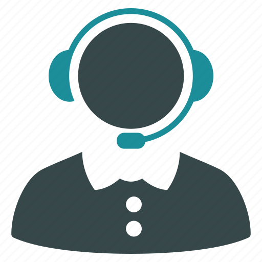 call, headset, operator, reception, receptionist, service, support icon