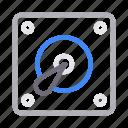 computer, harddrive, hardware, memory, storage icon