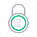 keyhole, padlock, private, protection