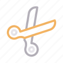coupon, cut, scissor, stationary, tool icon