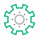 cogwheel, configure, gear, preference, setting