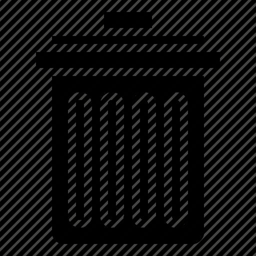 basket, bin, can, garbage, tools, trash icon