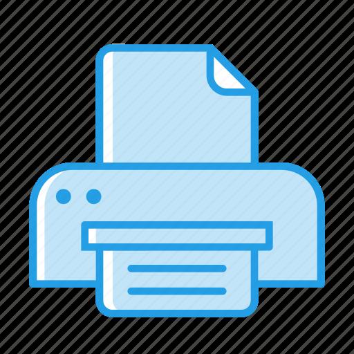 machine, office, paper, print, printing, stuff icon