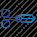 equipment, office, scissors, tools icon