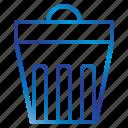 bin, equipment, office, tools icon