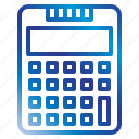 calculator, equipment, office, tools icon