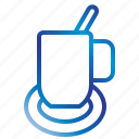 coffee, cup, equipment, office, tools icon