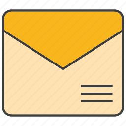 email, envelope, letter, send icon