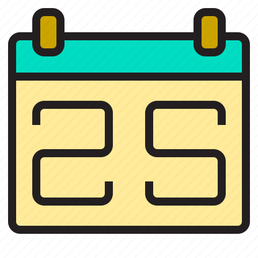 business, calender, office, supply, tools, working icon