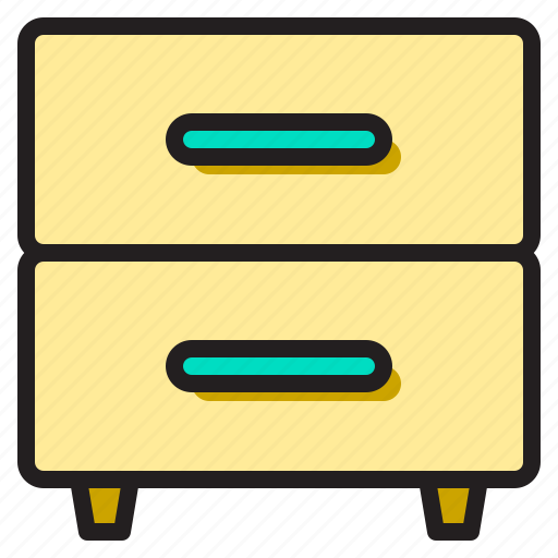 business, cabinet, filing, office, supply, tools, working icon