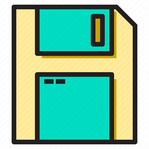 business, disk, floppy, office, supply, tools, working icon