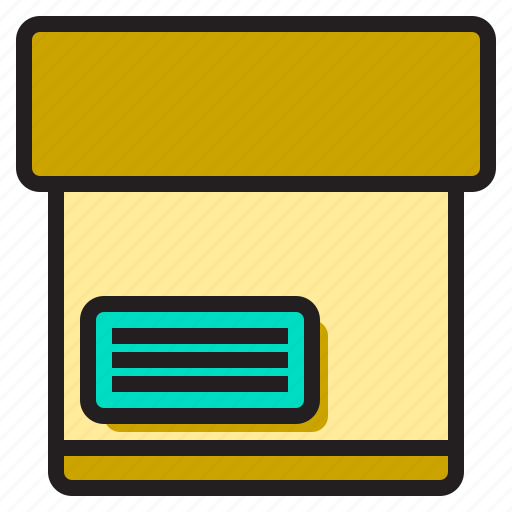 box, business, label, office, supply, tools, working icon