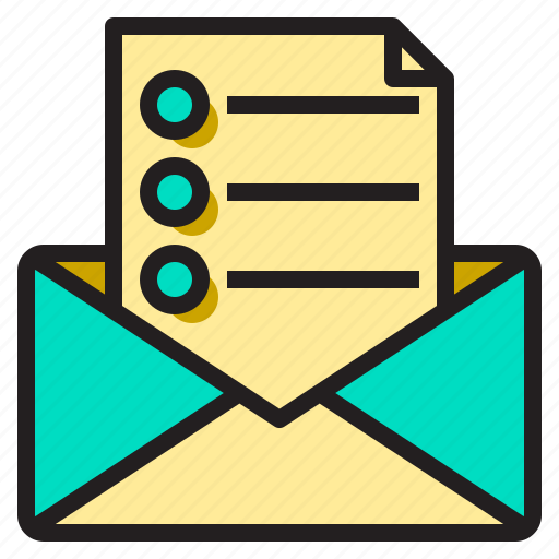 business, mail, office, supply, tools, working icon