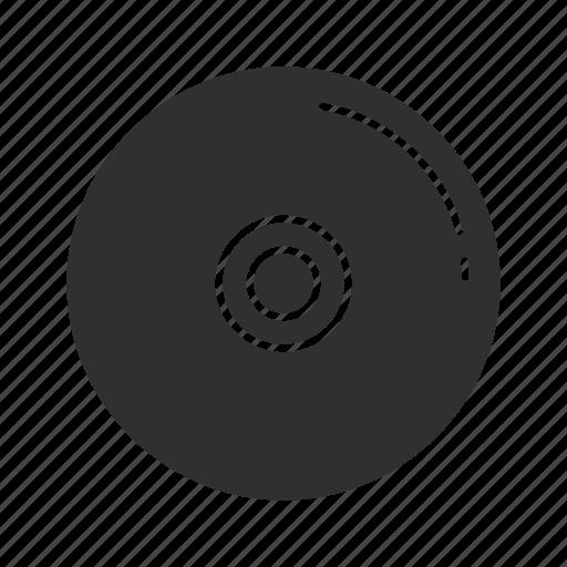 cd, data storage, disk, diskette icon