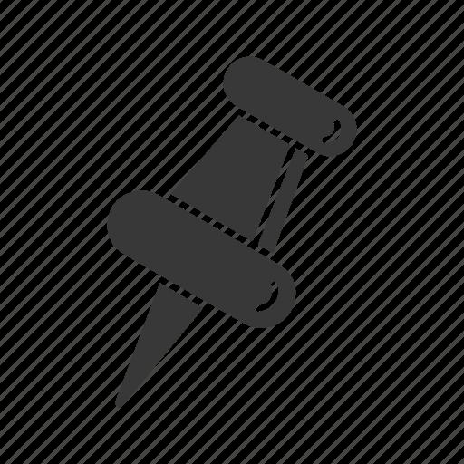 bulletin, paper pin, pin, post it icon