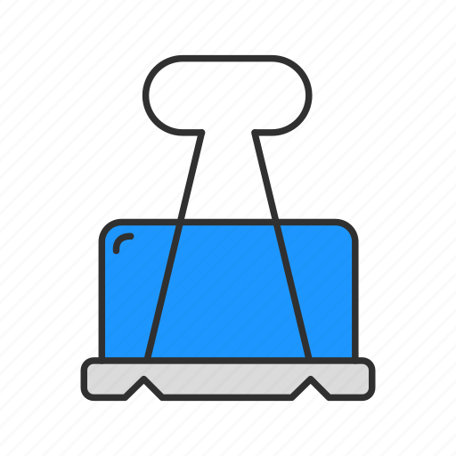 clip, documents, files, paper cilp icon