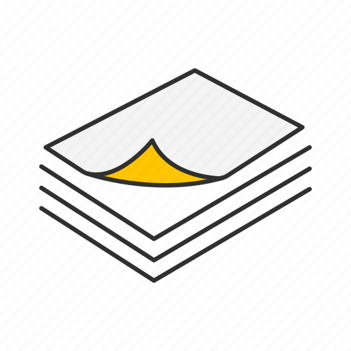 documents, file, papers, text icon