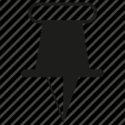 pin, pointer icon