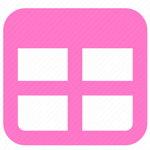 form, sheet, table, window icon