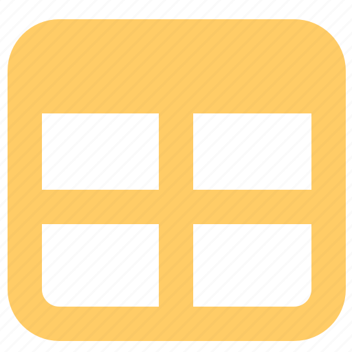 form, sheet, tables, window icon