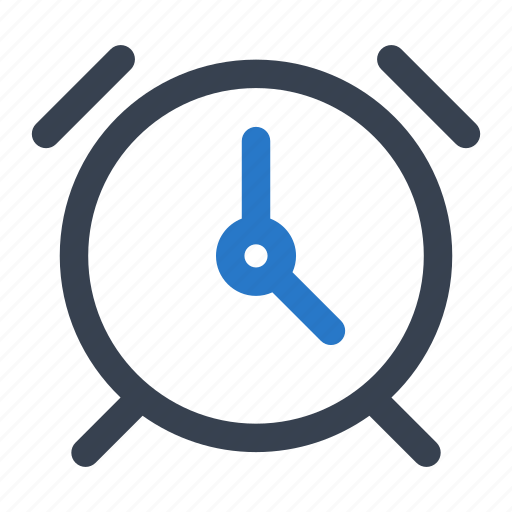 alarm, alert, clock, office icon