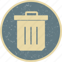 delete, dustbin, erase, trash icon