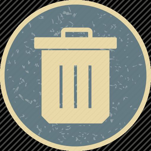 delete, dust bin, trash icon