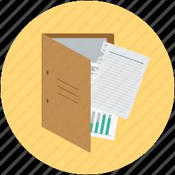 document, document folder, file folder, folder, storage icon