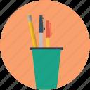 education, pen, pencil, pencil box, pencil case