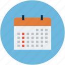 agenda, calendar, date, diary, monthly book, program, schedule icon